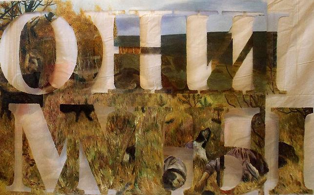 """""""Мы - Они"""", плексиглас, масло,120х100 см., 2012, автор Потапов Владимир"""