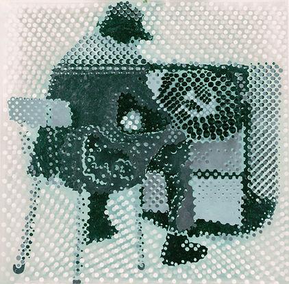 """""""Бойс-тв"""", плексиглас, масло, 100х100см., 2013"""