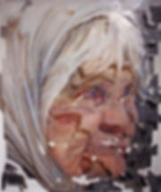 """""""Unite №6"""", 120х100 см., плексиглас, масло, 2012"""