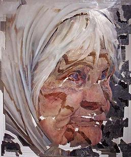 """""""Unite №6"""", плексиглас, масло, 120х100 см., 2012"""