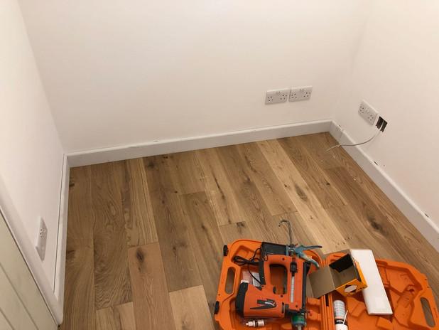 Flooring & Skirting Board Installation