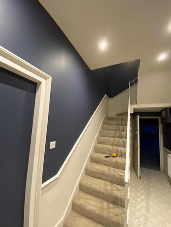 Internal Wall Painting Stairs & Landing