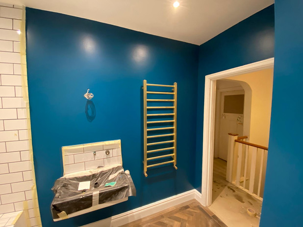 Bathroom Wall-Ceiling Painting