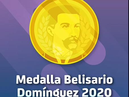 Medalla Belisario Domínguez 2020