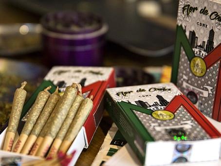 ¡Ya está a la venta la primer cajetilla de marihuana en México!