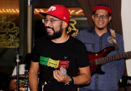 Vibra Muchá llenó de ReggaeSon el Kaya Bar