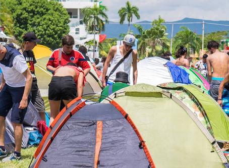 Ganja prepara un camping con alberca para festejar su 25 aniversario.
