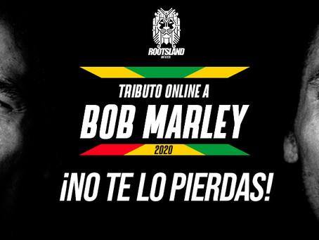 ¡No te pierdas hoy el Tributo Online a Bob Marley!