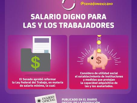 Salario digno para las y los trabajadores