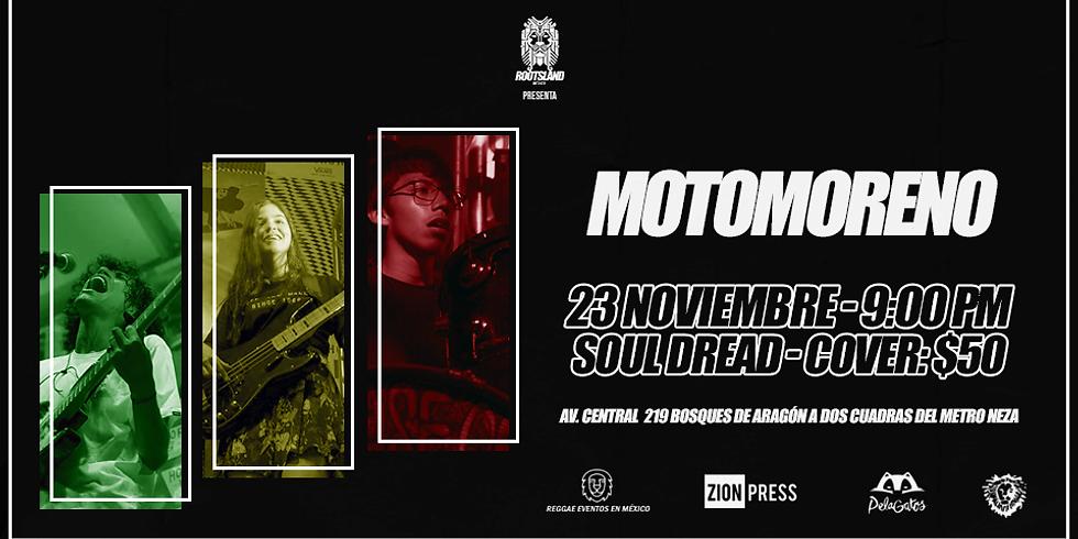 Motomoreno en Soul Dread #SesionesRootsLand