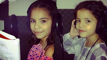 """La primer canción de Maya y Melina """"Bailar y Jugar"""" las niñas del reggae."""