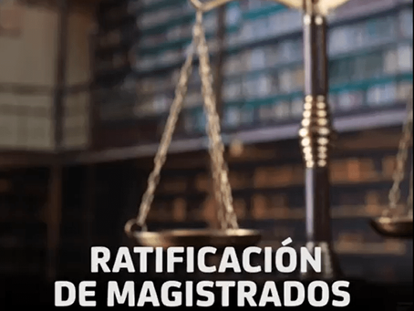 Ratificación de Magistrados del TEPJF