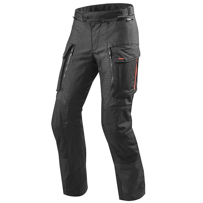 Sand 3 Black Pants Front