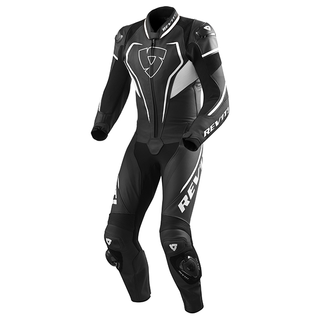Vertex Pro 1 pc Race Suit Black-White
