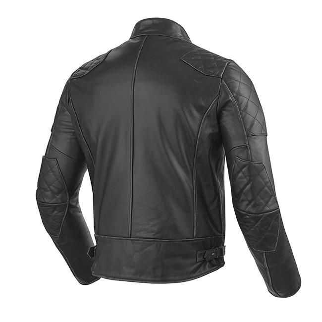Lane Leather Jacket - Black