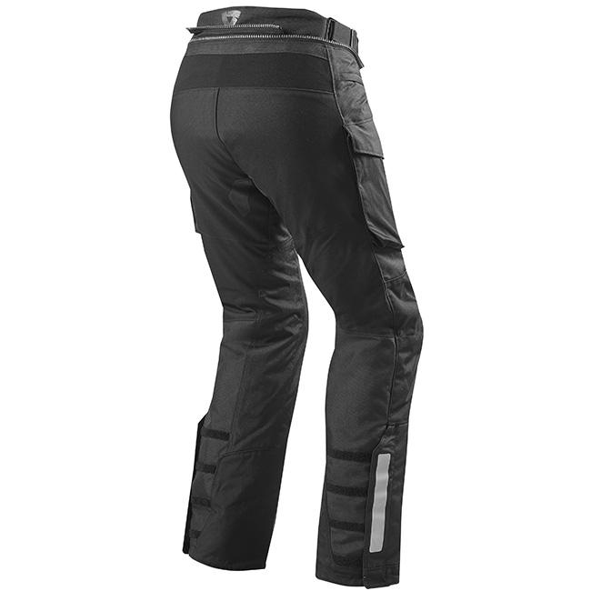 Sand 3 Black Pants Rear