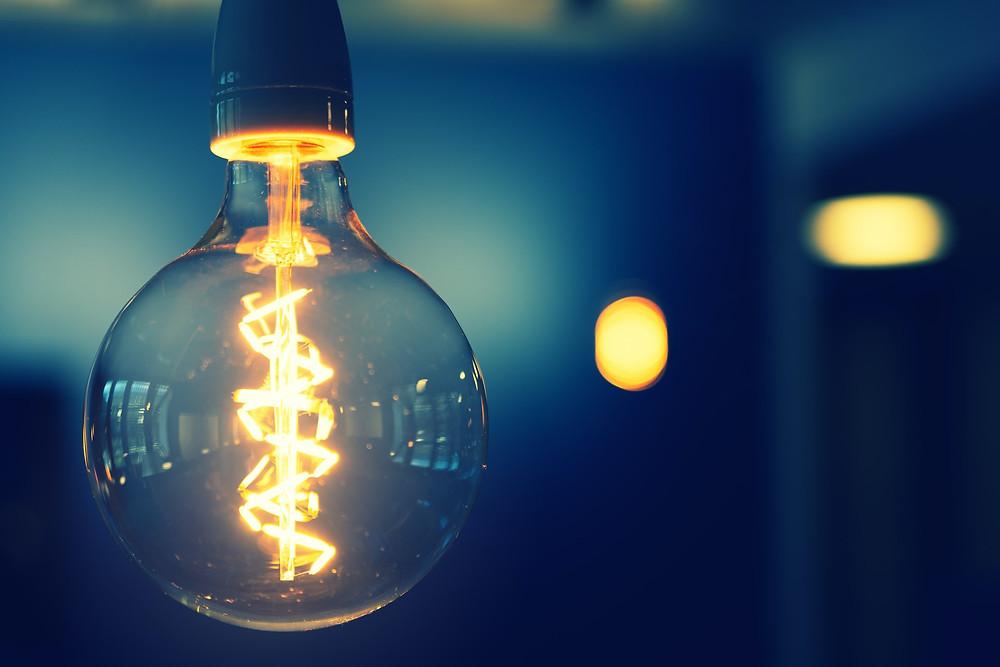 lightbulb. Invention. Patent.