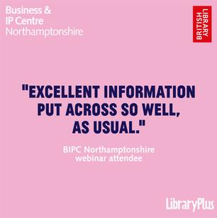 BIPC Northamptonshire Webinar Attendee Feedback