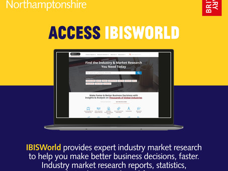 Access IBISWorld, a global market research database
