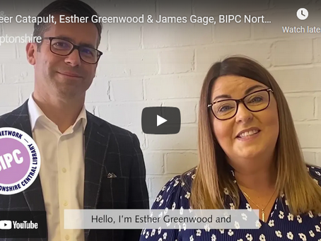Career Catapult, Esther Greenwood and James Gage