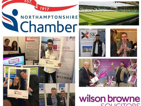 Back 2 Business Exhibition by Northants Chamber, 15th September 2021