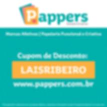 Cupom Pappers Estúdio Criativo
