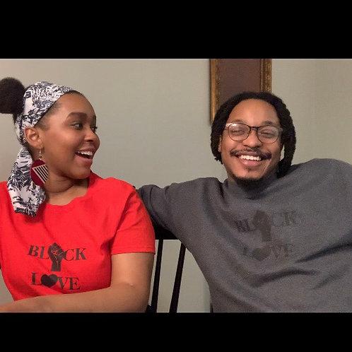 Men's Black Love Sweatshirt