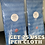 Thumbnail: Reusable & Durable Cleaning Cloths (dry cleaning cloths)