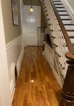 Result of Cleaned Staircase/Hallway