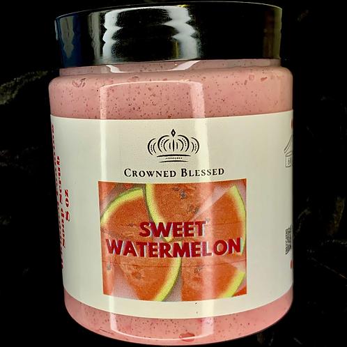 Whipped Foaming Soap Scrub~ Sweet Watermelon 🍉