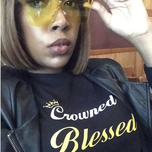 Crowned Blessed Women's T-shirt