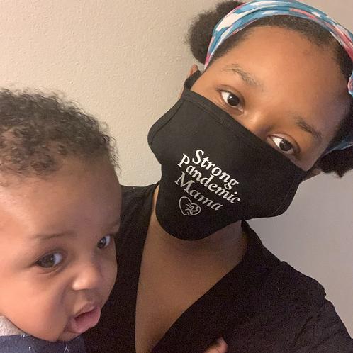 Strong Pandemic Mama Mask 😷