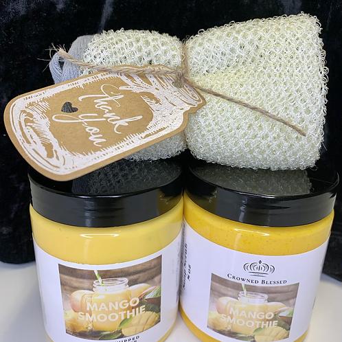 Soap Scrub & Body Butter~Spa Bundle 🧖🏾♀️