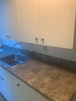 Result of Cleaned Countertop/Sink