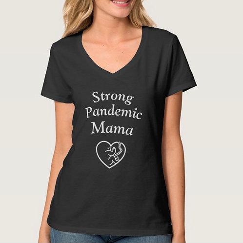 Strong Pandemic Mama (Heart Baby)