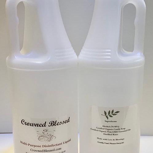 Multi-Purpose Disinfectant Liquid (includes two, 32 oz bottles!)