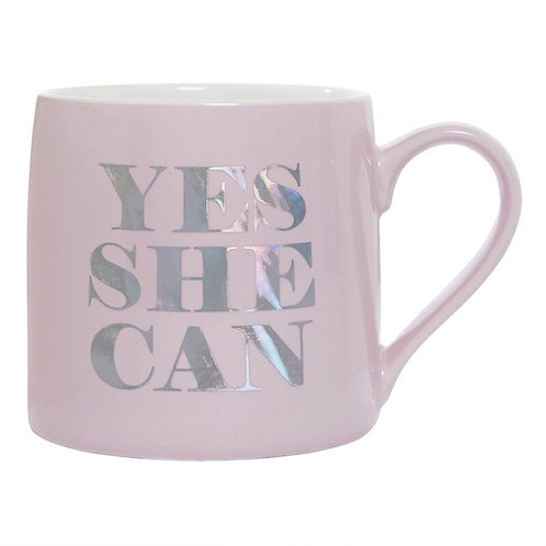 Yes She Can Mug ☕️