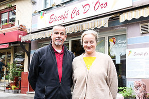 Seit 33 Jahren gibt es in der Obertorstraße 4 das Eiscafe Ca'D'Oro, betrieben von Annette Santini. Das Eis wird zu 100 Prozent selbst hergestellt: Von der Base zur Paste bis hin zum Eis.  Im Winter geschlossen.