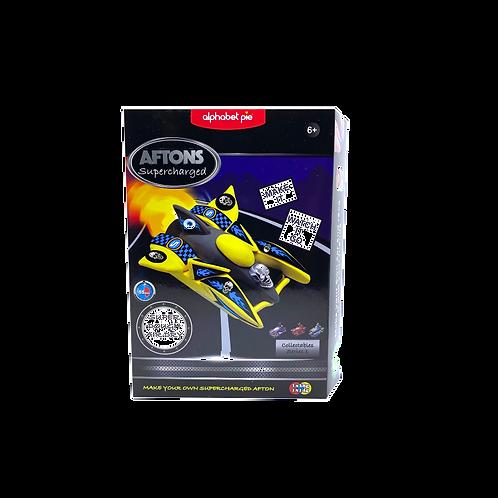 Aftons DIY Racing Car- Yellow Sprinter