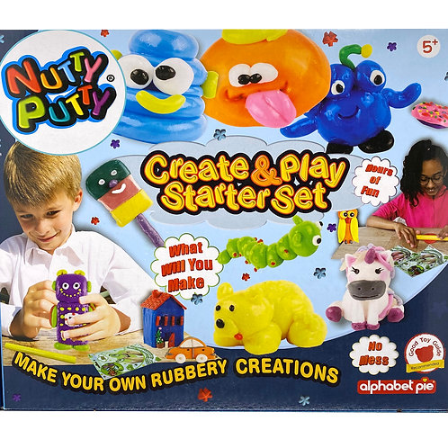 Nutty Putty Create & Play Set