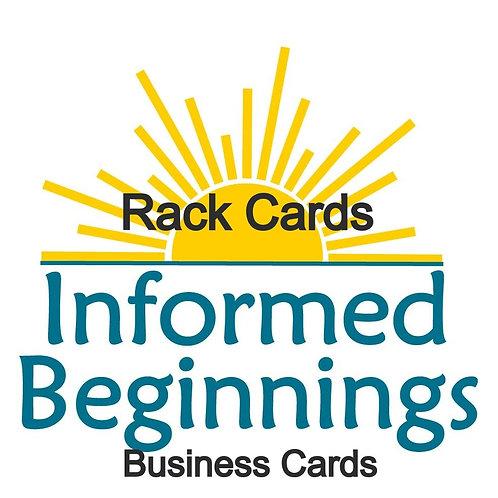 Marketing Rack Cards