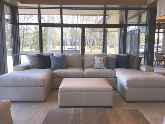 David Nosella Custom Sectional