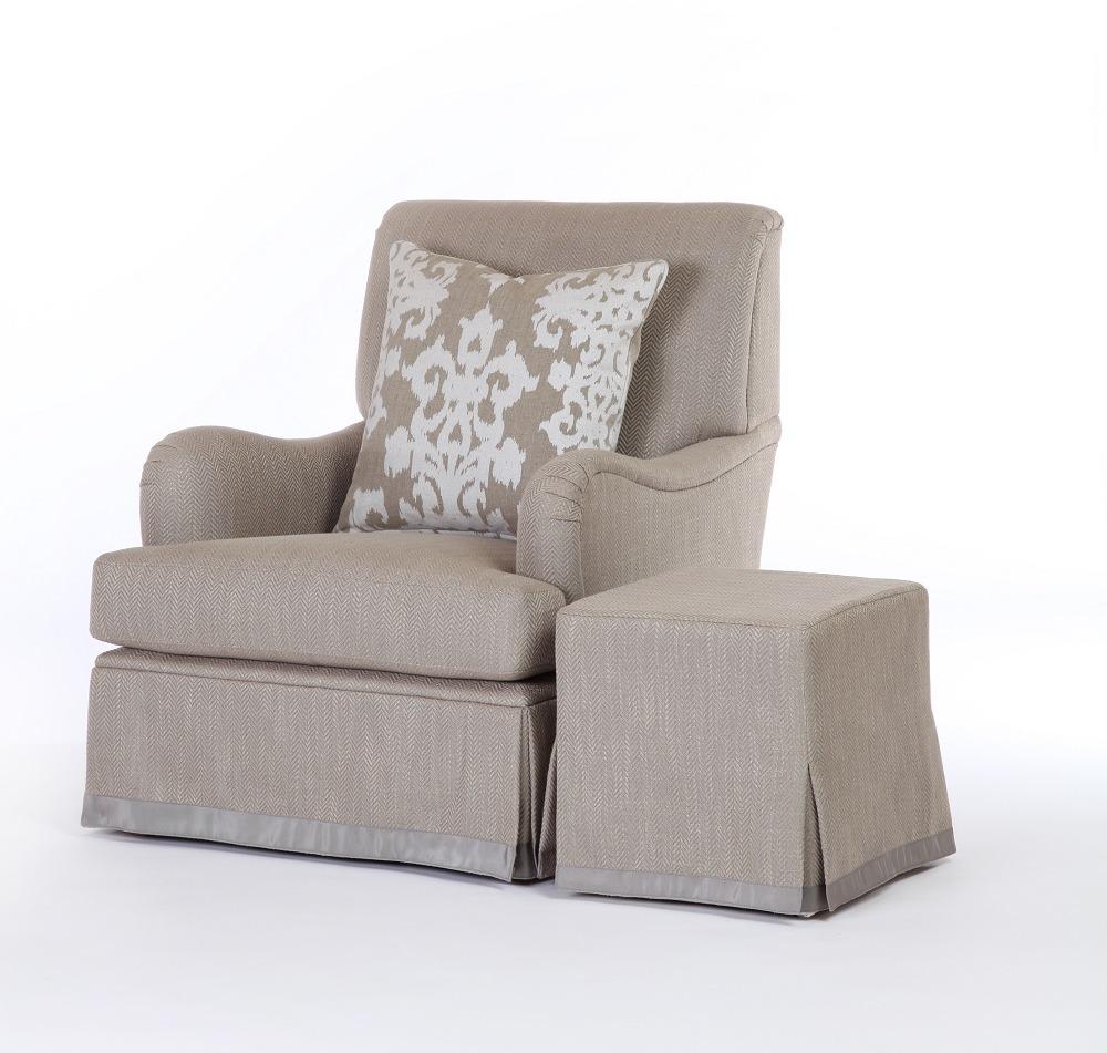 Annabel Chair & Lucy Ottoman