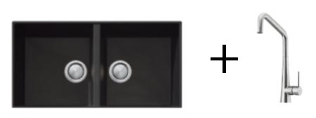 Oliveri Undermount Sink & Tap GOLD PACKAGE 2
