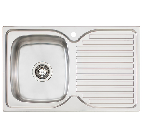 Finista Sink Single Bowl & Drainer LHB (1486460)