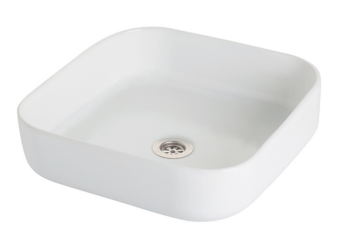 Grace Counter Top Square Basin - White (1489250)