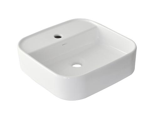 Grace Counter Top Square Basin - White (1489252)