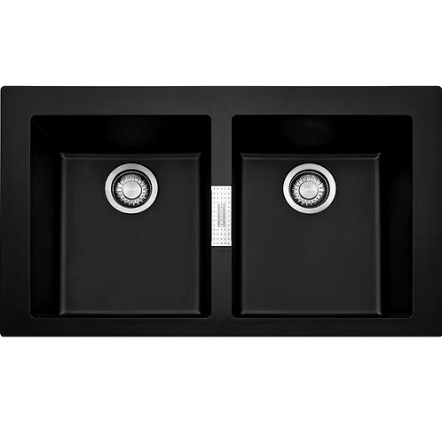 FRANKE Sirius SID620 Onyx - Tectonite 860mm x 510mm (1489090)