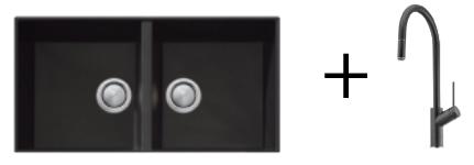 Oliveri Undermount Sink & Tap PLATINUM PACKAGE 1