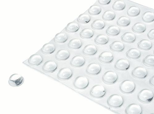 Bumpon, Round - Clear, 5mm [56 per card] (1448360)